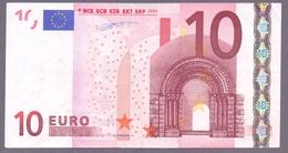 Irland 10 Euro, Duisenberg, K 002 E2, Leicht Gebraucht, Selten - EURO