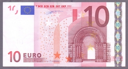Beldien 10 Euro, Duisenberg, T 001 D1, Leicht Gebraucht, Selten - EURO