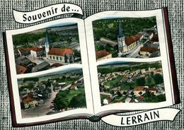 """LERRAIN 4 Vues """"souvenir De ...Ed LAPIE - France"""