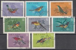 VIETNAM MI.NR. 1171-1178 VOGELS VÖGEL  USED / GEBRUIKT / OBLITERE 1981 - Viêt-Nam