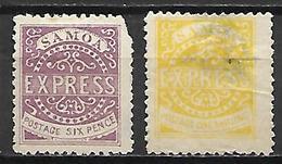 SAMOA    -   1877 .   L O T  De Réimpressions - Samoa