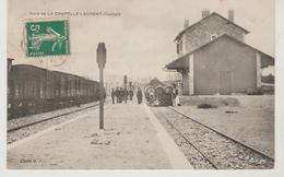 Cantal Gare De LA CHAPELLE LAURENT (Train Et Petite Animation) - Autres Communes