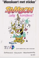 TV1, Autocollant Samson. - Autocollants