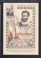 Carte Federale Journée Du Timbre 1946 Aix En Provence - Storia Postale