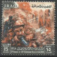 Iraq - 1968 Ramadan Revolution Anniversary 15f Used   SG 801  Sc 470 - Iraq