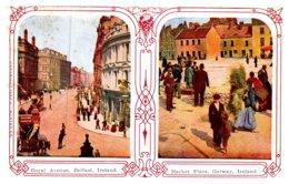Ireland  Belfast , Royal Ave, Market Place, Stereo View - Ireland