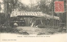 CHAVILLE  -  Hutte  De  Bucherons  Dans  Le  Bois - Chaville