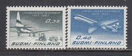 Finland 1963 - 40 Jahre Fluggesselschaft Aero Oy(FINNAIR), Mi-Nr. 580/81, MNH** - Finland