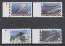 British Antarctic Territory (BAT) 1996 WWF/Blue Whale 4v ** Mnh (44002) - Ongebruikt
