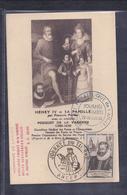 Carte Locale Journée Du Timbre 1946 Angers - Briefe U. Dokumente