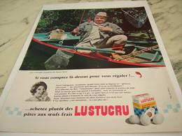 ANCIENNE PUBLICITE PIERRE DORIS ET LUSTUCRU 1967 - Affiches