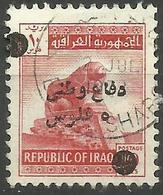Iraq - 1963-70 Defence Fund 5f On 10f Used  SG T932  Sc RA8 - Iraq
