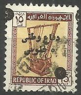 Iraq - 1963-70 Defence Fund 5f On 15f Used  SG T933  Sc RA9 - Iraq