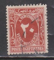 EGYPT Scott # J38A Used - Postage Due - Egypt