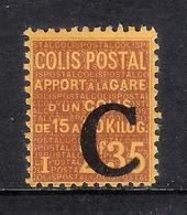 COLIS POSTAUX N°111 NEUF*  TTB - Parcel Post