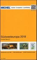 Michel 2018 DVD Sudwest Europa 1548 Pages Andorra France Monaco Gibraltar Portugal Spain + 12 X Rundschau 2018 = 1,07 GB - Allemand