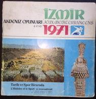 Izmir Akdeniz Oyunları Jeux Mediterraneens 1971 Booklet - Libros
