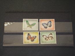NUOVA GUINEA - 1960 FARFALLE 4 VALORI - NUOVI(++) - Nuova Guinea Olandese