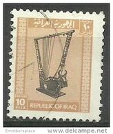 Iraq - 1973 Rams Head Harp 10f Used     Sc 684 - Iraq