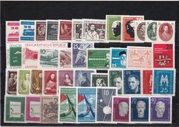 DDR, Fast Kpl. Jahrgang 1957** (T 12216) - [6] Repubblica Democratica