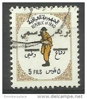 Iraq - 1973 National Defence Overprint Used     Sc RA22 - Iraq