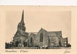CPSM - France - (22) Côtes D'Armor - Ploumilliau - L'Eglise - Andere Gemeenten