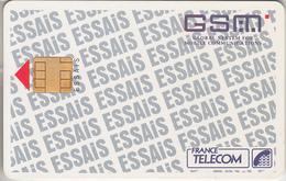 FRANCE - TÉLÉCARTE - GSM & SIM - FT * RARE  *** ESSAIS - TESTCARD *** - Frankreich