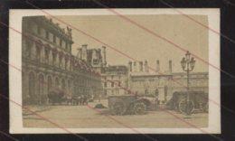 RUINES  DE LA COMMUNE DE PARIS 1871 - LES TUILERIES - PHOTOGRAPHIE 19EME - Ancianas (antes De 1900)