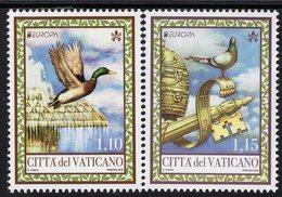 Vatican - 2019 - Europa CEPT - National Birds - Mint Stamp Set - Vatican