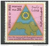 Iraq - 1975 Arab Labor Organisation 25f Used  Sc 733 - Iraq