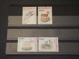 Mozambico - 1995 Fauna 4 VALORI - NUOVI(++) - Mozambico