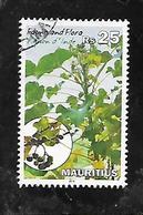 TIMBRE OBLITERE DE MAURICE DE 2014 N° MICHEL 1152 - Maurice (1968-...)