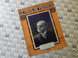 PAYS DE FRANCE N°44. 1/08/15. DELCASSE.ROUEN. PRISONNIERS ALLE. AISNE. AMBULANCE. VOLONTAIRE AVIATION.JEAN BOUIN. 75. - Français