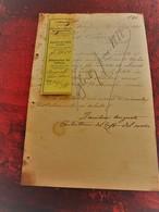 1888 A. ZANIBONI BOLOGNA ITALIA  LETTRE FACTURE MANUSCRIT -GET- PEPPERMINT à REVEL Hte G. Doc Commercial - Francia
