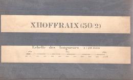 XHOFFRAIX  OVIFAT MONT RIGI - Cartes Géographiques