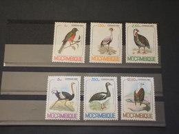 MOZAMBICO - 1980 UCCELLI 6 VALORI - NUOVI(++) - Mozambico