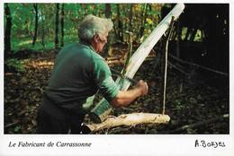 Le Fabricant De Carrassonne Cadouin Forêt De La Bessède (2 Scans) - Craft