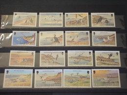 MAN - 1983 PITTORICA/UCCELLI 12 + 4 VALORI - NUOVI(++) - Isola Di Man