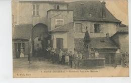 DONZENAC - Fontaine Et Porche Des Pénitents - Andere Gemeenten