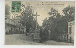 DONZENAC - Avenue De Paris Et Route De Saint Germain Les Vergnes - Frankrijk