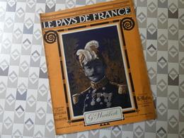 PAYS DE FRANCE N°49. 23/09/15. Gal HUMBERT. TOMBE DE JEAN BOUIN. YSER. ALSACE. FANTAISIE AVION. - Revues & Journaux