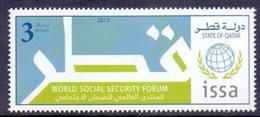 2013 QATAR World Social Security Forum 1 Values  MNH - Qatar