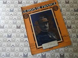PAYS DE FRANCE N°50. 30/09/15. Gal D'URBAL. ARTOIS. ARTILLERIE. GELLENONCOURT. HARAUCOURT. BOIS LE PRETRE. AVIATION  BAT - Français