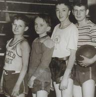 B&W Amateur Photo Boy Garcon Team Summer Sport Large Size - Anonyme Personen