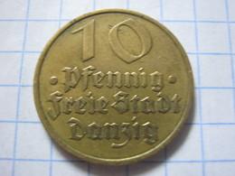 Danzig 10 Pfennig 1932 - Allemagne