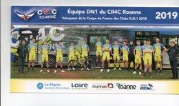 CYCLISME TOUR DE FRANCE  EQUIPE CR4C 2019 Format 10 X 21 - Wielrennen