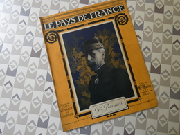 PAYS DE FRANCE N°52. 1/10/15. Gal ROQUES. MITRAILLEUSE. TIR AEROPLANE. SEIGNATH. ANSPERBACH. SCHWEIN..CHAMPAGNE. - Français