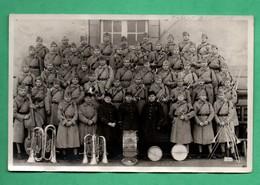 Militaria Carte Photo Militaire Fanfare Du 8 Eme  Regiment ? ( Voir Scans ) - Regiments