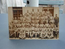 Cpa- Photo   Groupe De Soldats Français 124° 2° Cie Juin 1922 - Reggimenti