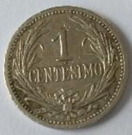 URUGUAY - 1 Centesimo 1909 - - Uruguay